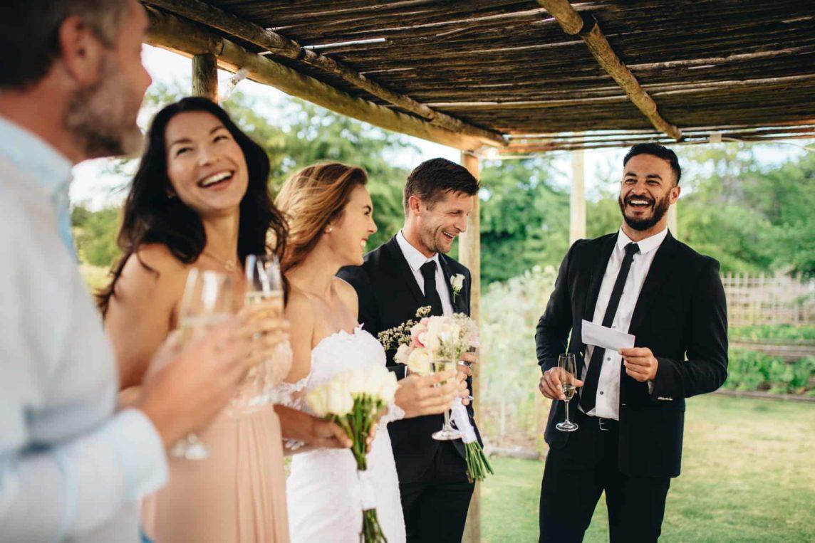 Niezapomniana mowa weselna świadka